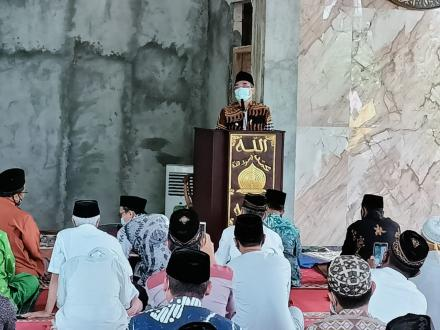 Sosialisasi SE Bupati Terkait Ibadah dI Bulan Ramadhan dan Idul Fitri 1442 H